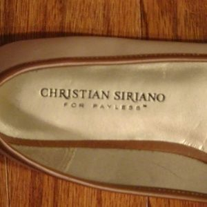 Christian Siriano Shoes - Christian Siriano Biege Buckled Flats Size 6 1/2 M